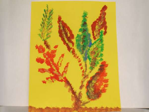 SpongeLeaves,Fall,AutumnCrafts