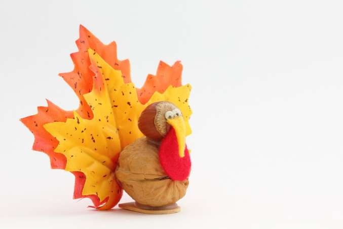 Thanksgiving family activities, kids craft