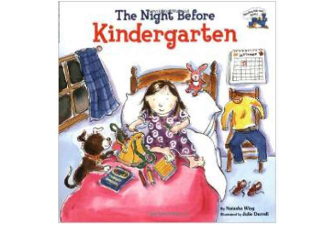 The Night Before Kindergarten, BTS book