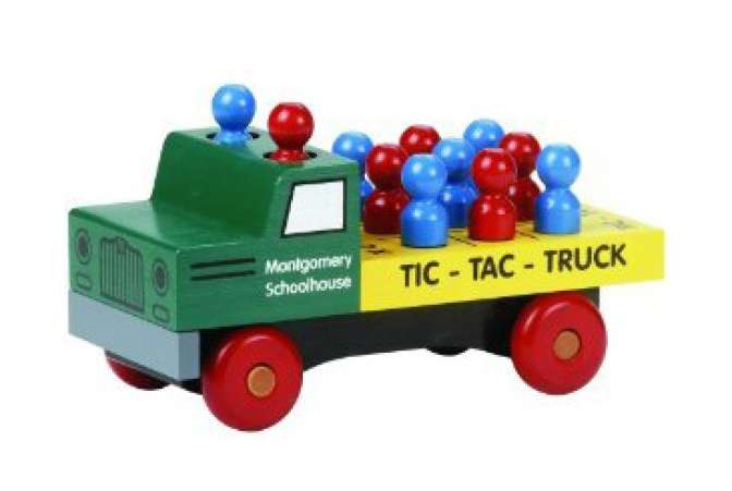 Best Toys Made in the USA, wooden car truck game toy