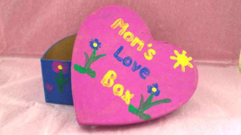 Mother's Day Trinket Box