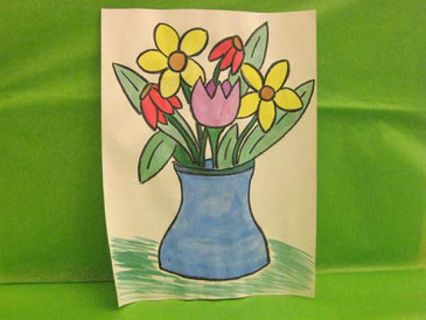 WatercolorFlowerCraft