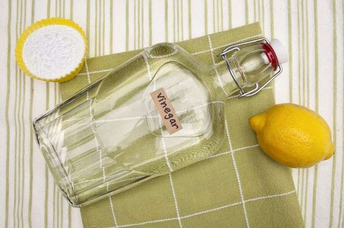 Vinegar and other natural cleaners
