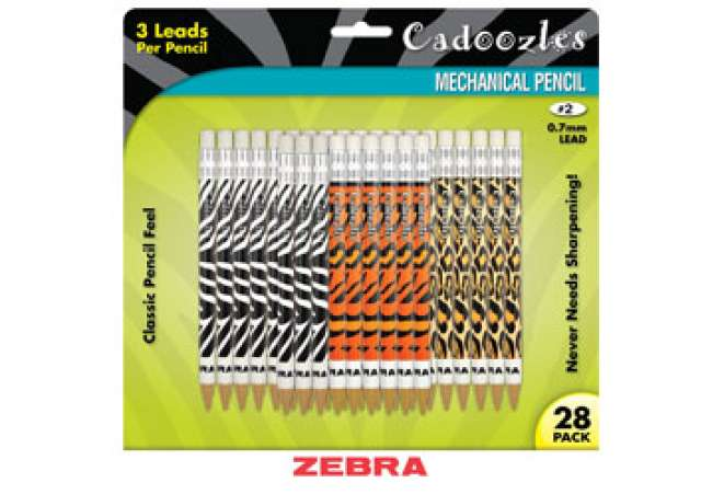 Zebra® Cadoozles Mechanical Pencils