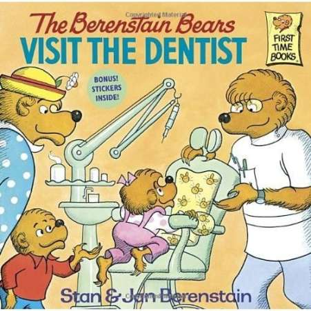 book for child afraid of dentist, Berenstain Bears