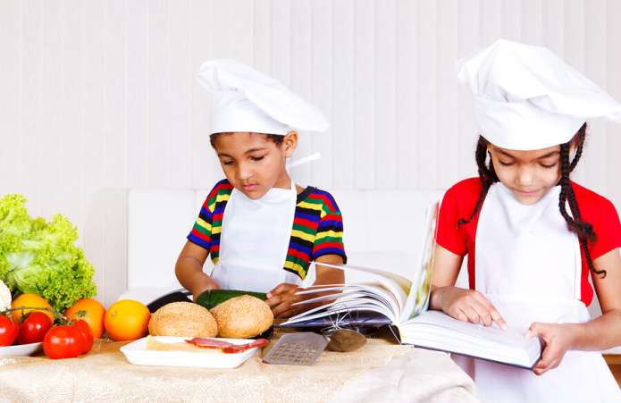 cooking with kids, getting children interested in food