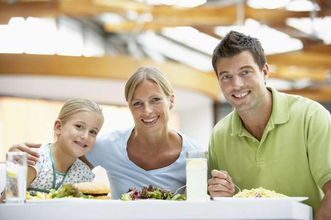 time saver, family dining out