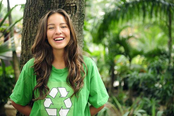 what colleges look for, girl into the environment