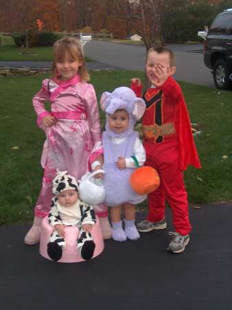 Princess, Cow, Elephant, Superhero, Halloween Costumes