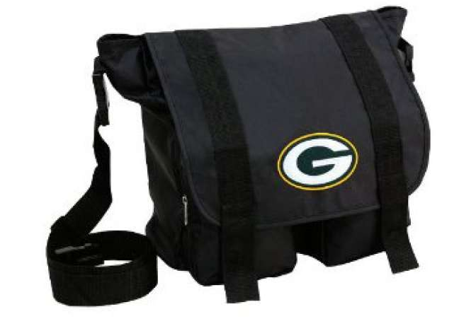 First Fathers Day gift ideas, Packers diaper bag for dad