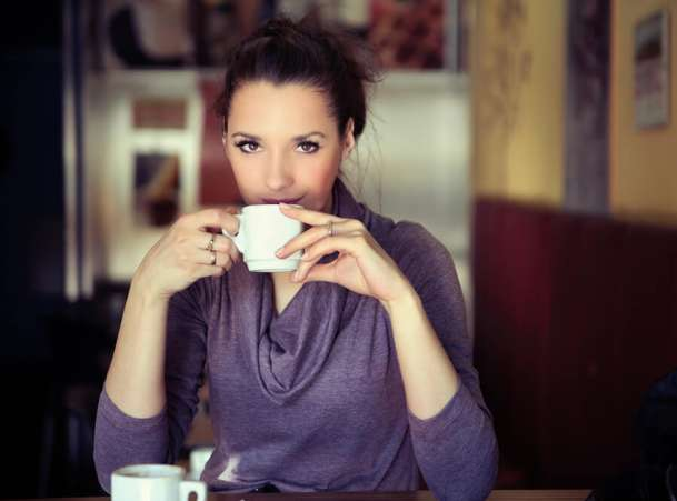 me time idea, women drinking coffee