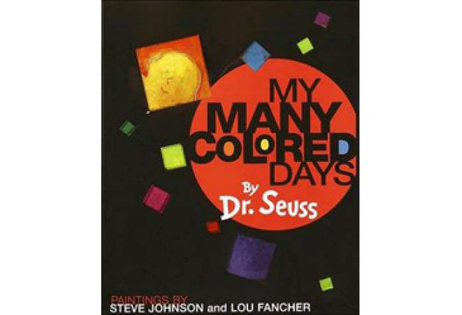 children's books explaining death or grief, My Many Colored Days Dr. Seuss