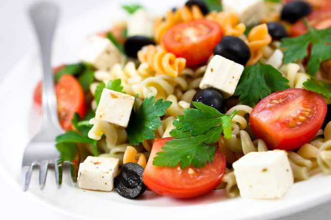 Nut-free lunch ideas, nut-free pasta salad for kids lunch