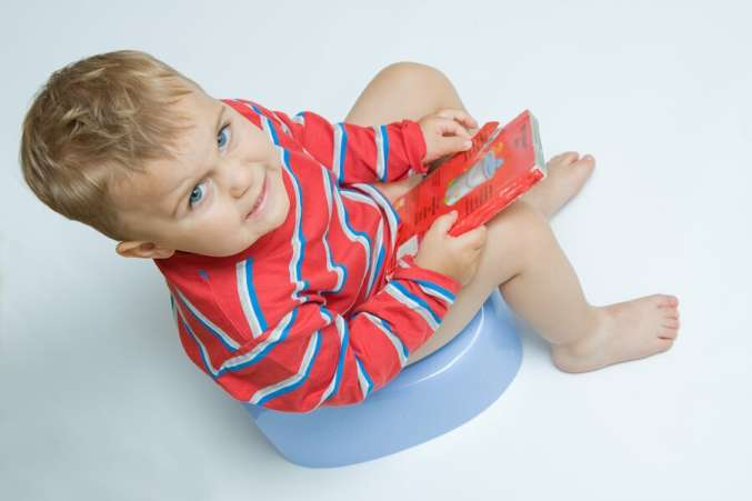 what is the right age, boy potty training