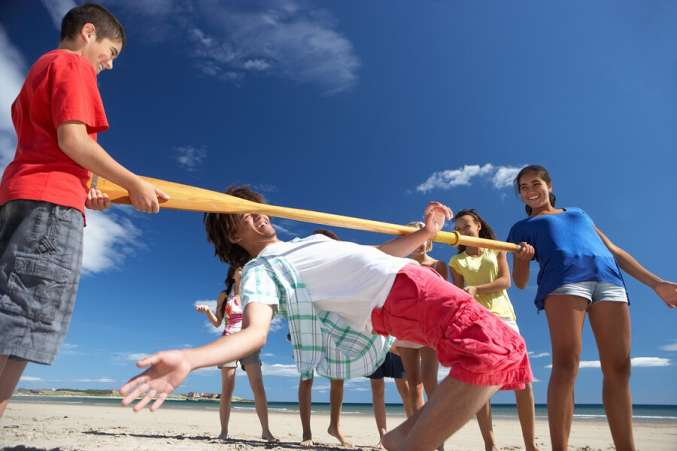 fun beach games for teens