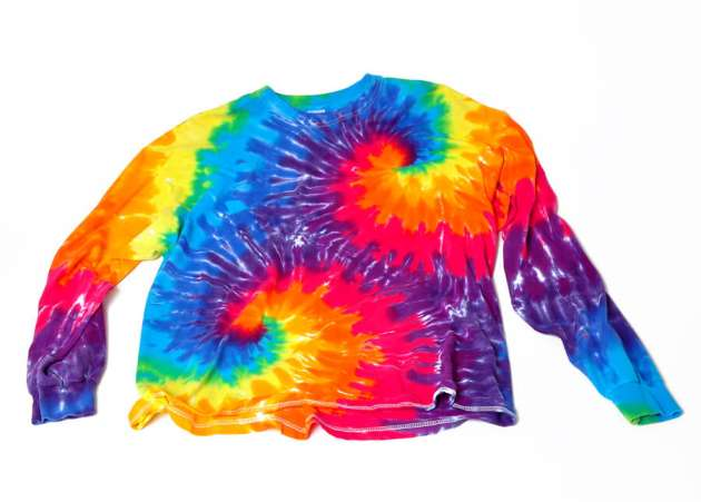 tie dyed shirt