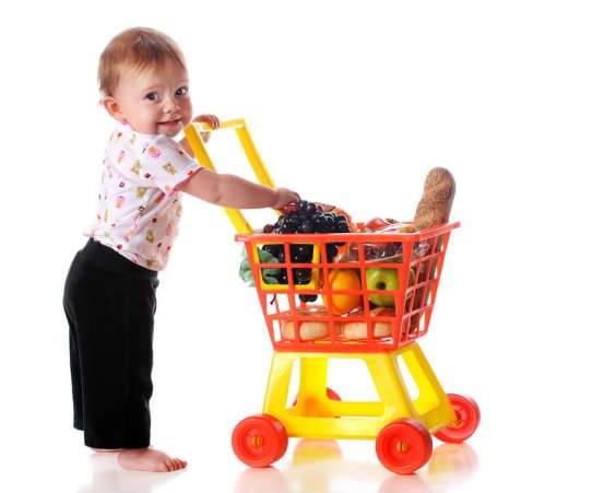 toddler activities, play grocery store