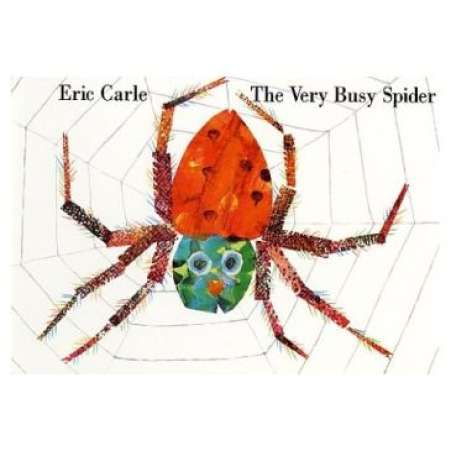Very Busy Spider book cover
