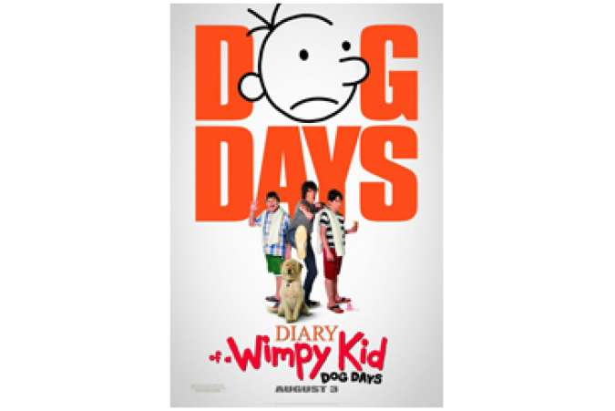Wimpy Kid 3rd movie, Dog Days