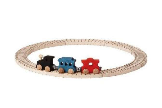 Best Toys Made in the USA, wooden Name Train set