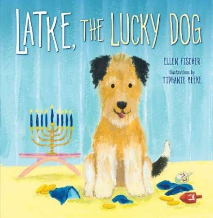 Latke the Lucky Dog, Hanukkah book
