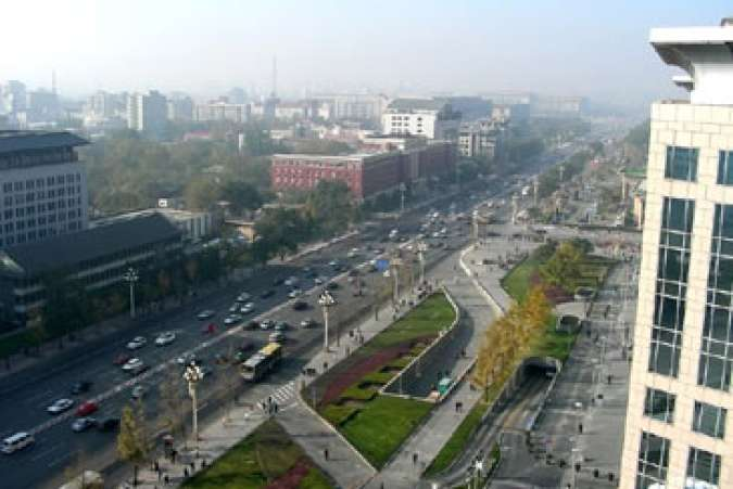 Beijing, China streets