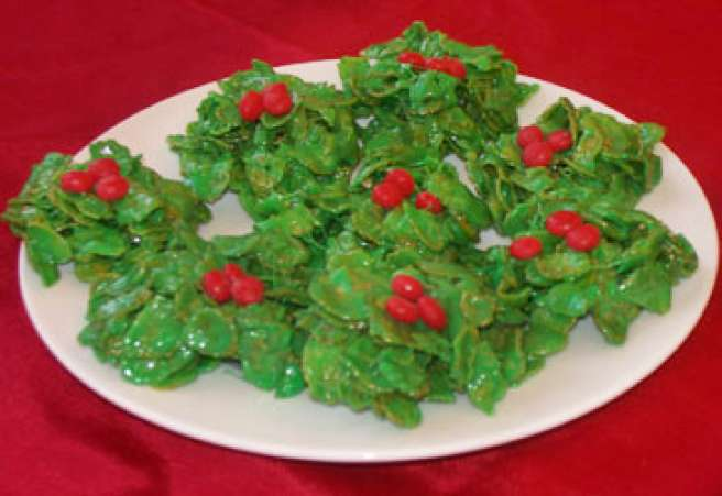 HolidayCookies,Holly