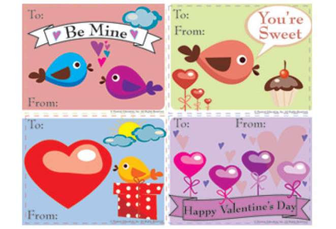 Printable Valentines Day Cards FamilyEducation – Printable Valentine Day Card