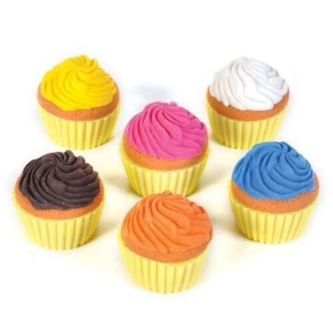 Oasis Scented Cupcake Erasers