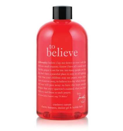 gifts that give back, Philosophy charity shower gel 2012