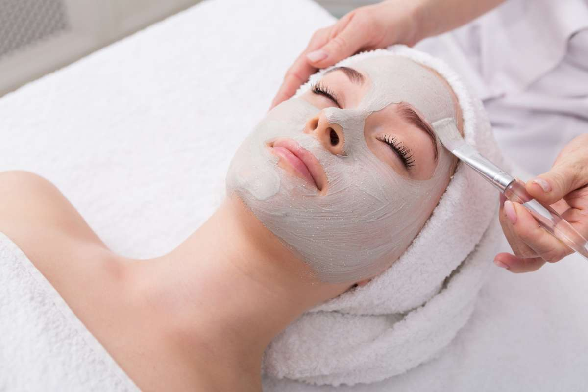 summer fun for moms - facial