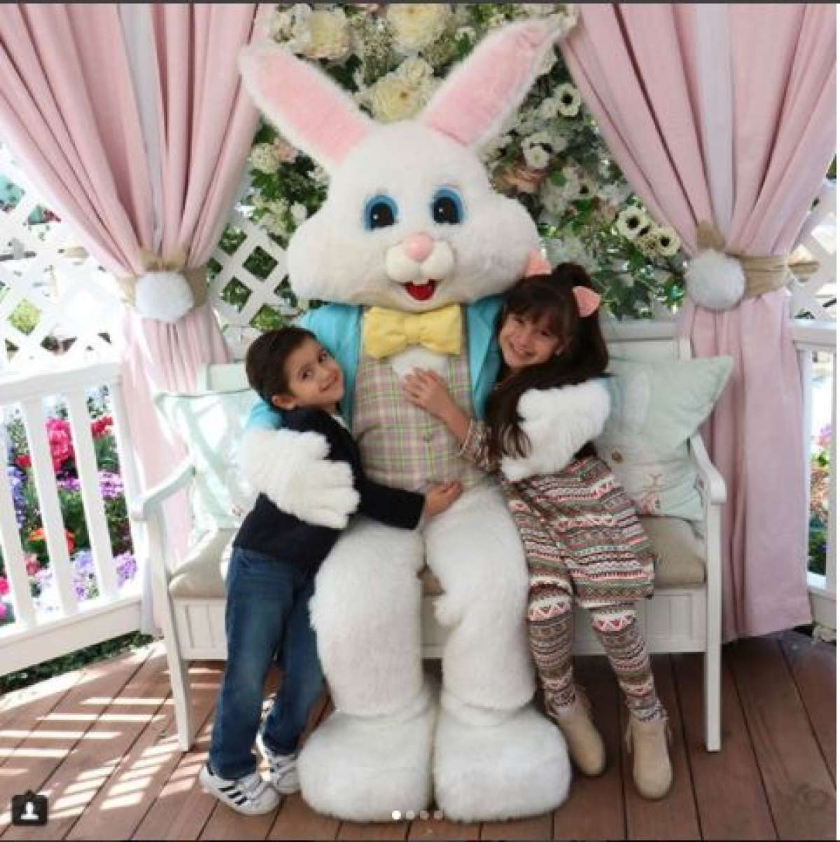 Celebrity Family Pics for Easter