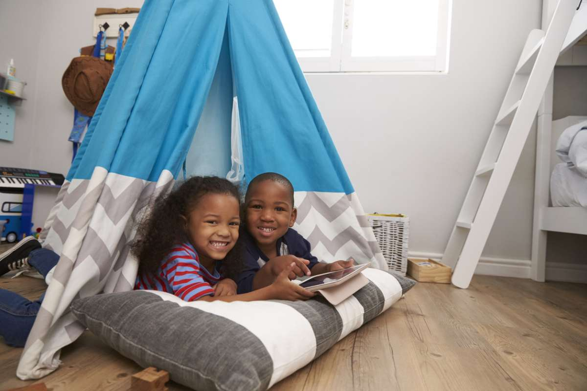 Kids' Room Renovation Teepee