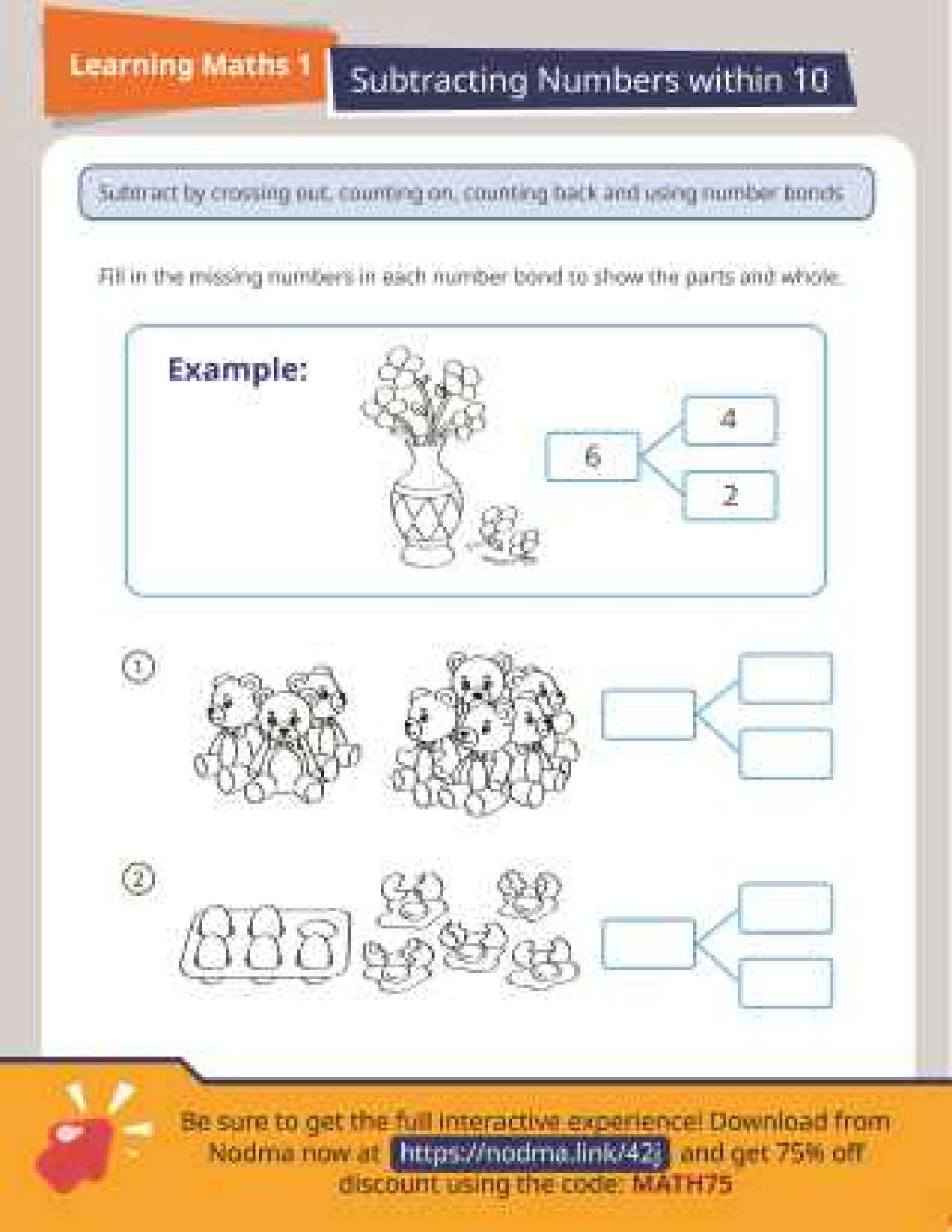 Addition and Subtraction Printables - FamilyEducation