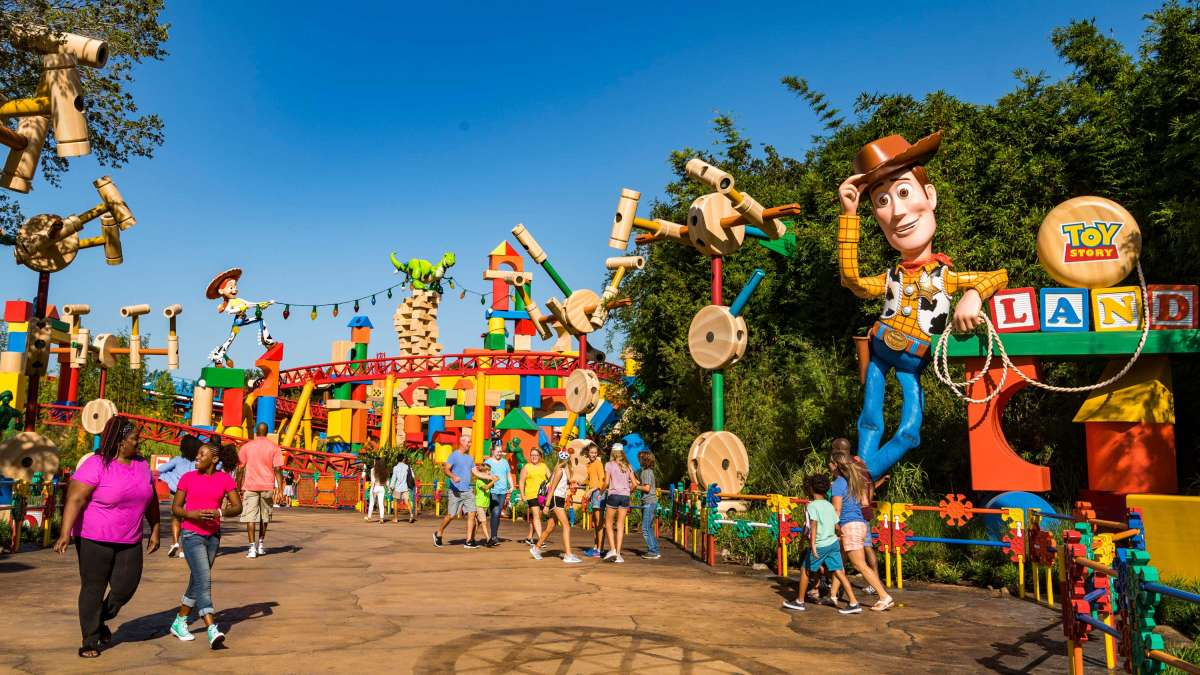 Toy Story Land Is Everything