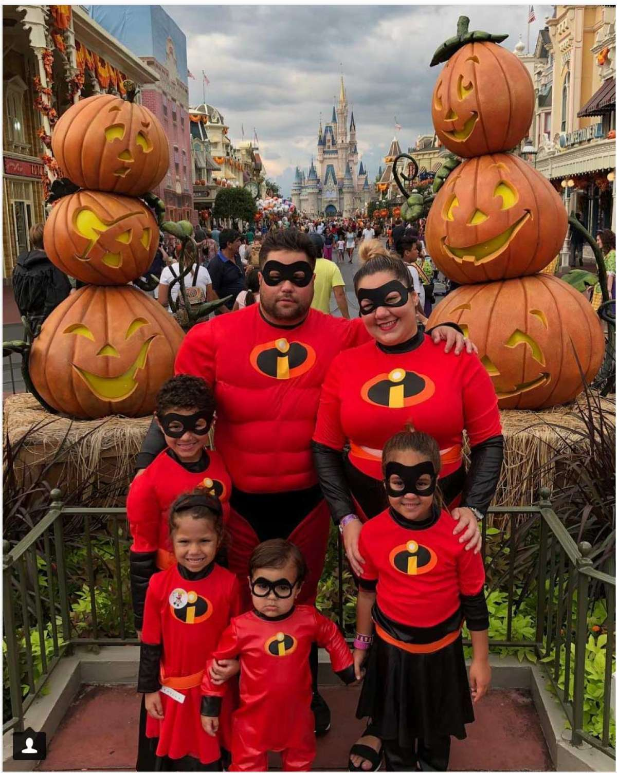 the incredibles family halloween costume