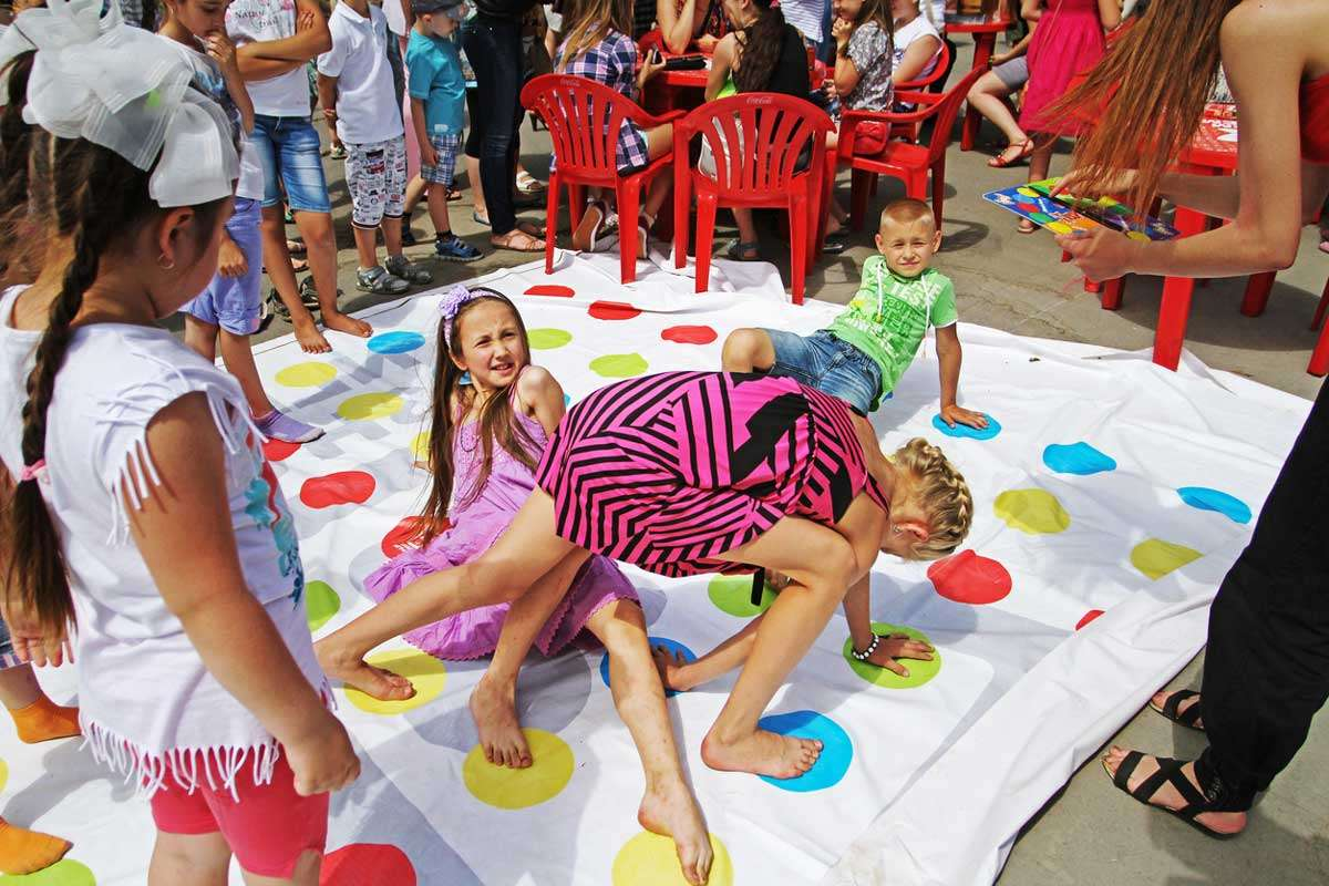 outdoor party game for kids
