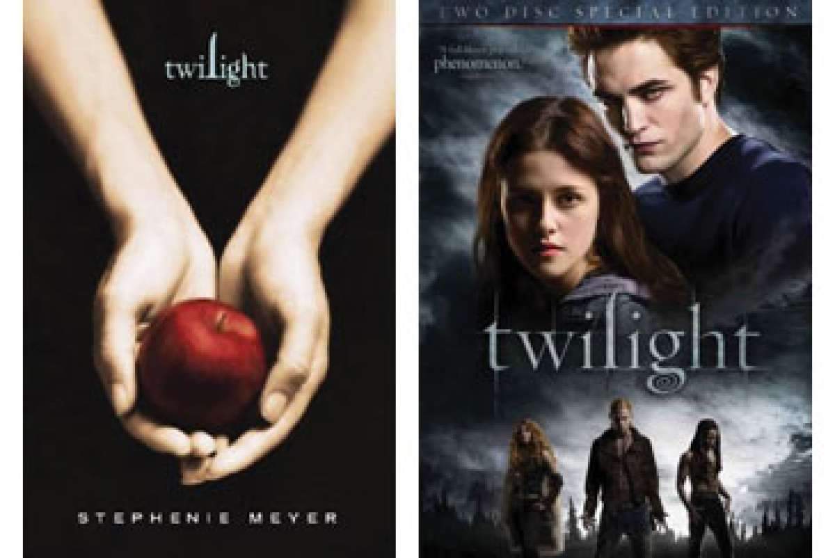 twilight series compare and contrast book to movie More about life lessons in the twilight series exploring the phenomenal popularity of the harry potter and twilight book series compare and contrast.