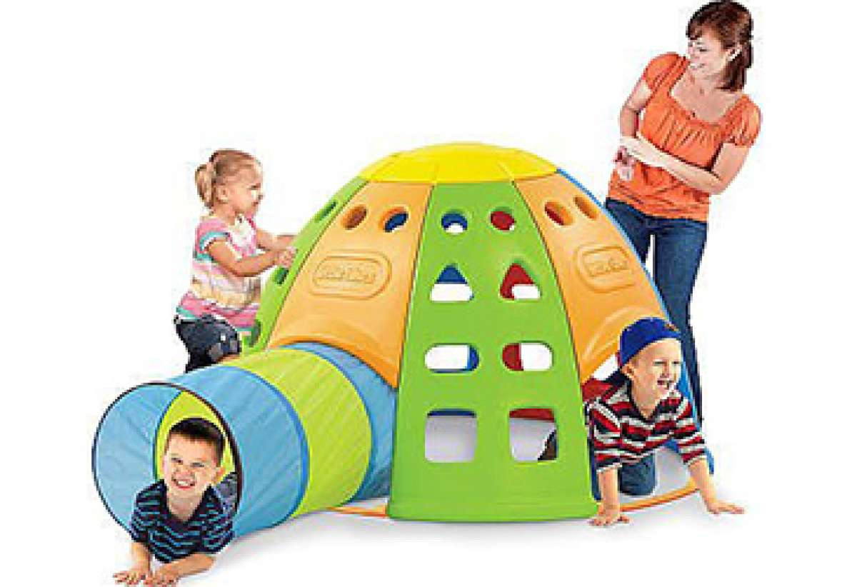 Little Tikes Tunnel and Dome Climber