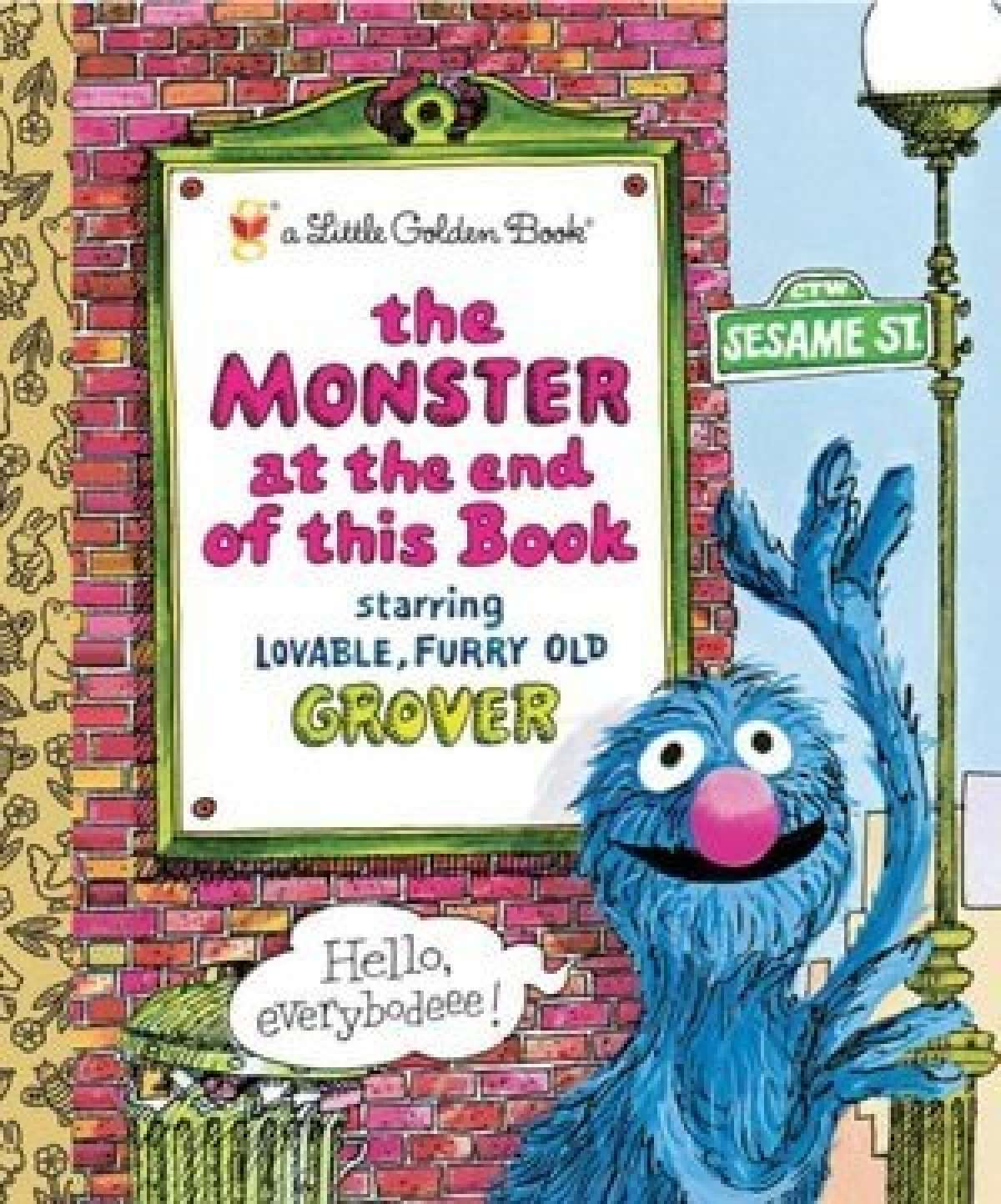 book for child afraid of monsters, Monster End This Book Grover
