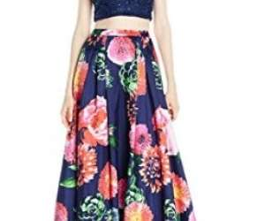 Floral Style Prom Dress