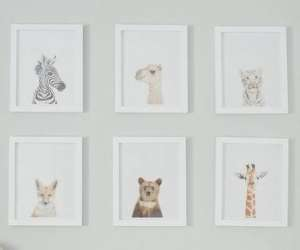 Animal-Themed Gender-Neutral Nursery