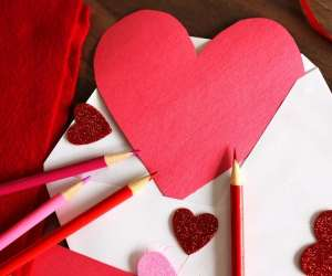 Heart Shaped Arts and Crafts