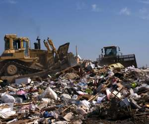 Garbage in Landfill