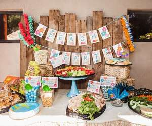 Beach Theme Baby Shower Ideas