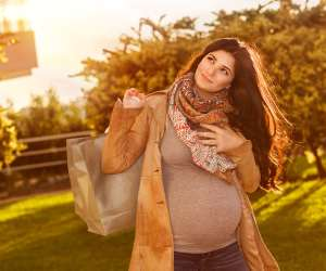 Pregnancy fall fashion
