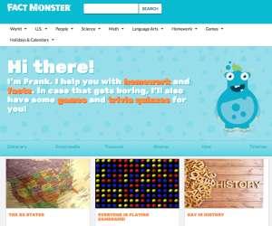 Children's homework help websites