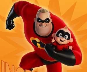 Incredibles 2 Father's Day Card