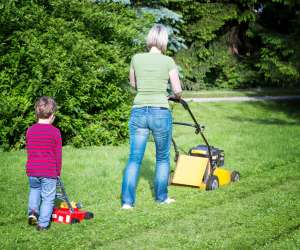 Watch Out Helicopter Parents, Lawnmower Parenting Is Here