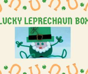 st. patrick's day leprechaun box craft